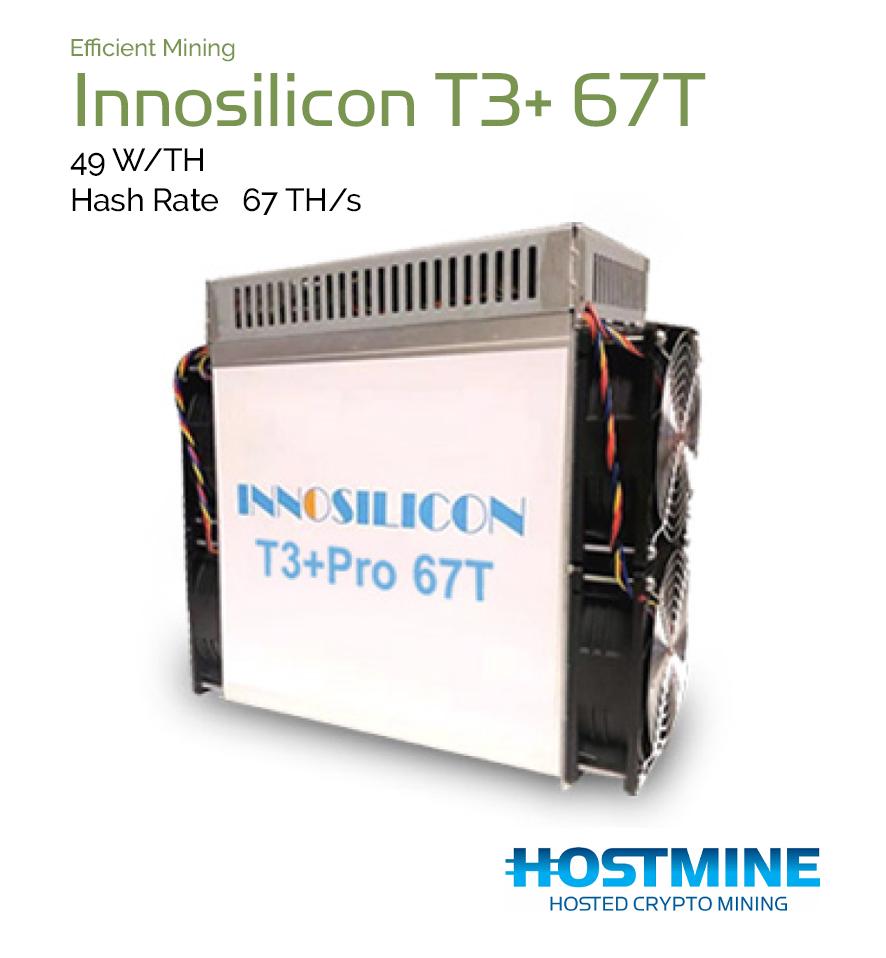 Innosilicon T3+ 67T