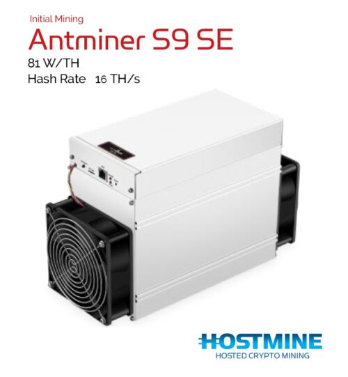 Antminer S9 SE 16TH/s