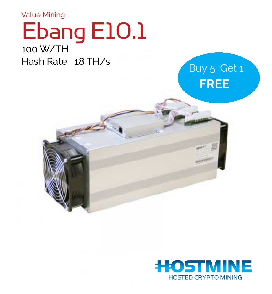 Ebang E10.1 17TH/s | HOSTMINE