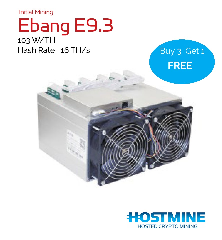 Ebang E9.3 16TH/s | HOSTMINE