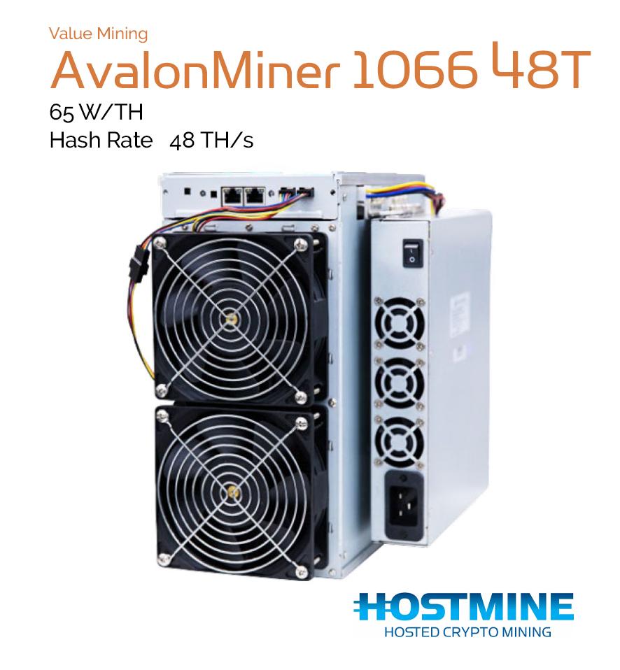 avalon cryptocurrency mining