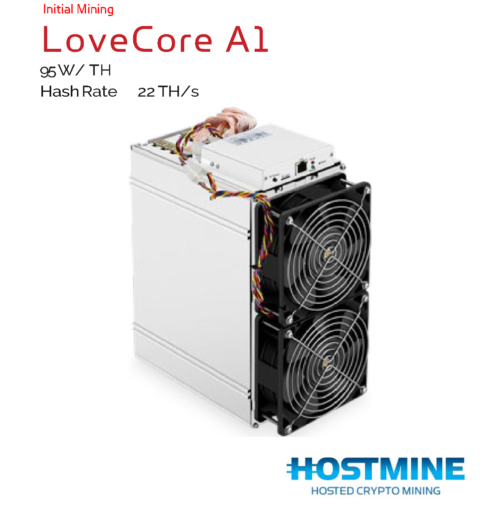 LoveCore A1 22TH/s   HOSTMINE