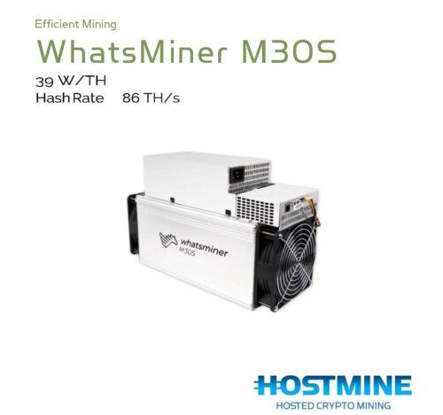 WhatsMiner M30S (86TH/s) 9
