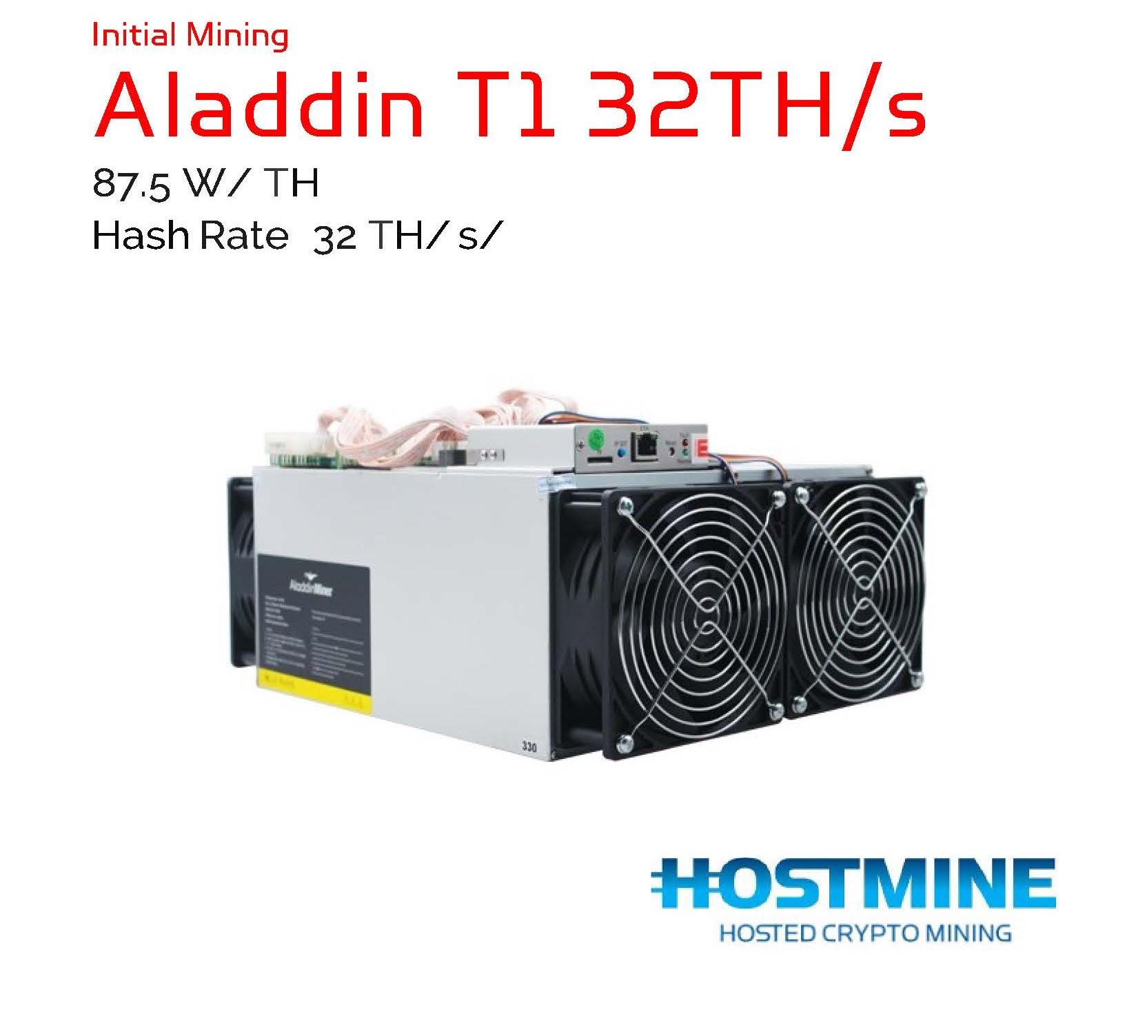 Aladdin T1 32TH/s | Hostmine