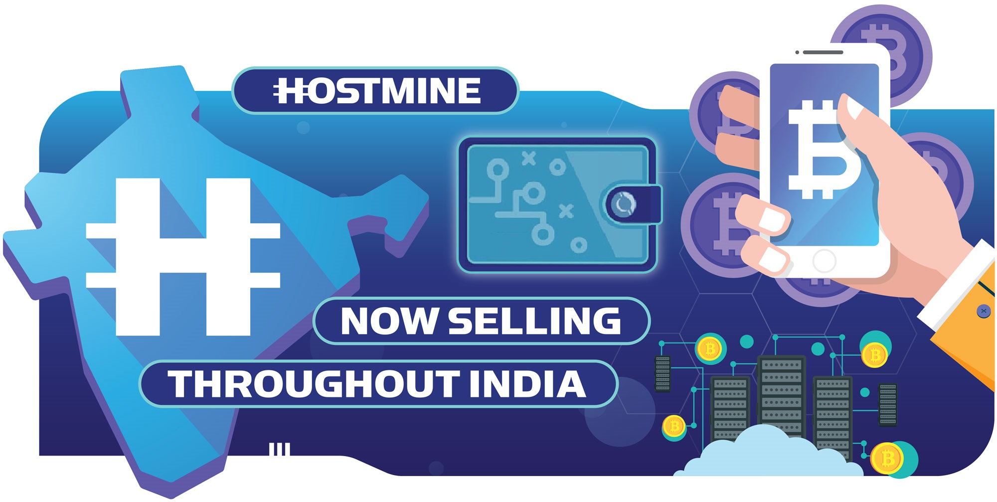 Hostmine Launches India Shipping Service 1