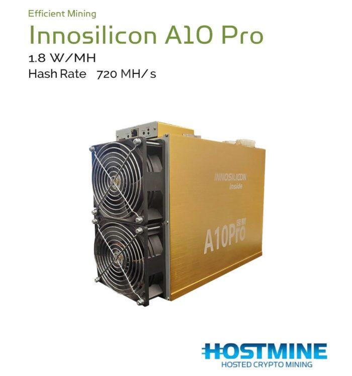 Innosilicon A10 Pro+ 7G 720 MH/S (Used) 1