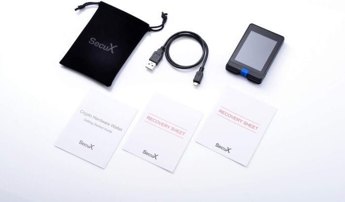 SecuX W10 Lite Crypto Wallet 3