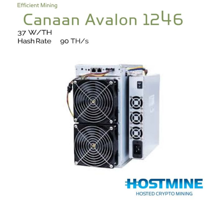 Canaan Avalon 1246 (85TH/s) 1
