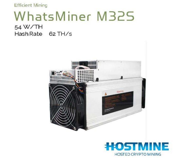 WhatsMiner M32S (62TH/s) 1