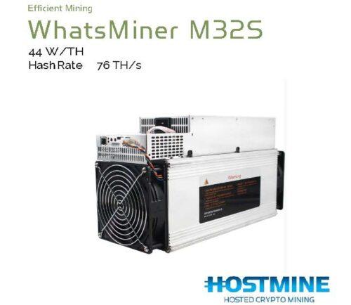 WhatsMiner M32S (76TH/s) 3