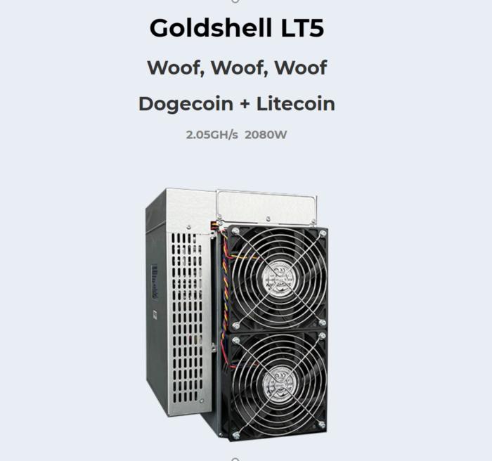 Goldshell LT5 2