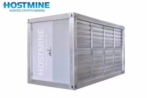 HOSTMINE 20ft Mobile Mining Unit 9